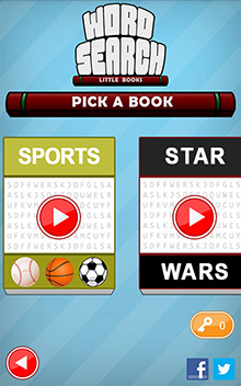 Book selection screen shows progress for the whole book